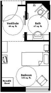 Private Room Floor Plan