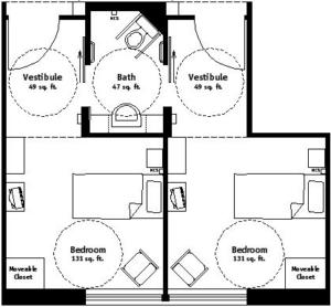 Semi-Private Floor Plan